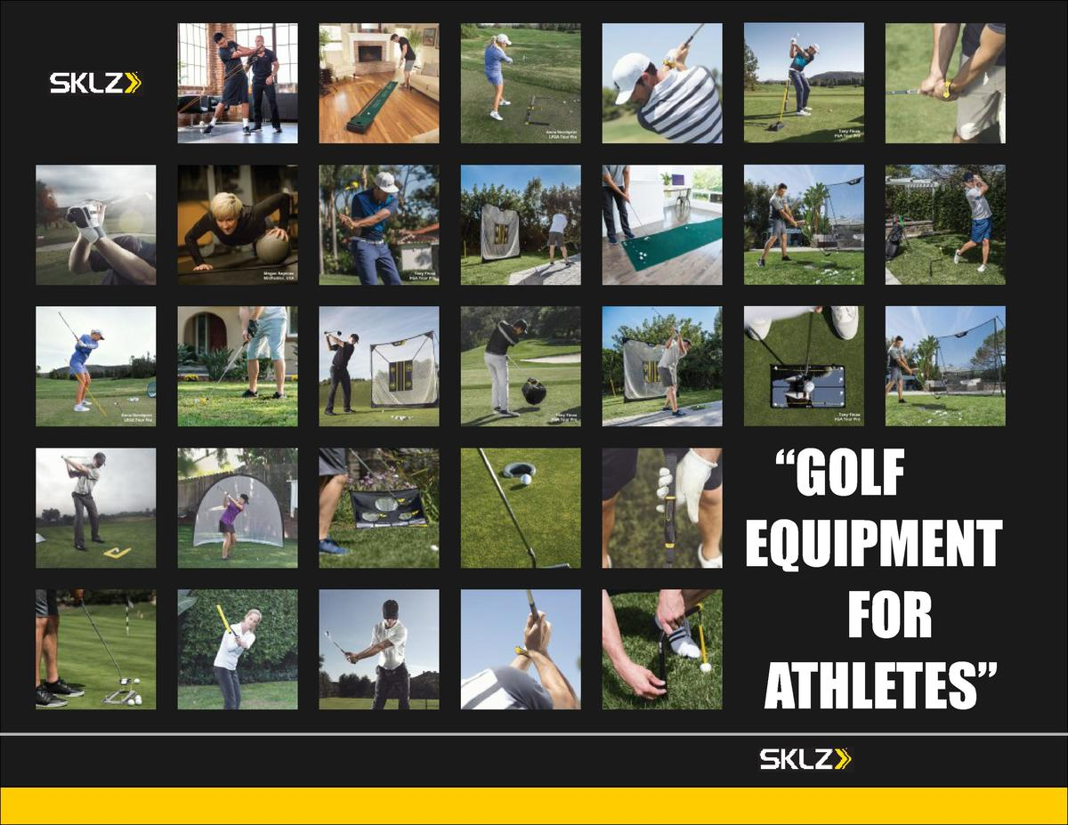 GOLF EQUIPMENT FOR ATHLETES