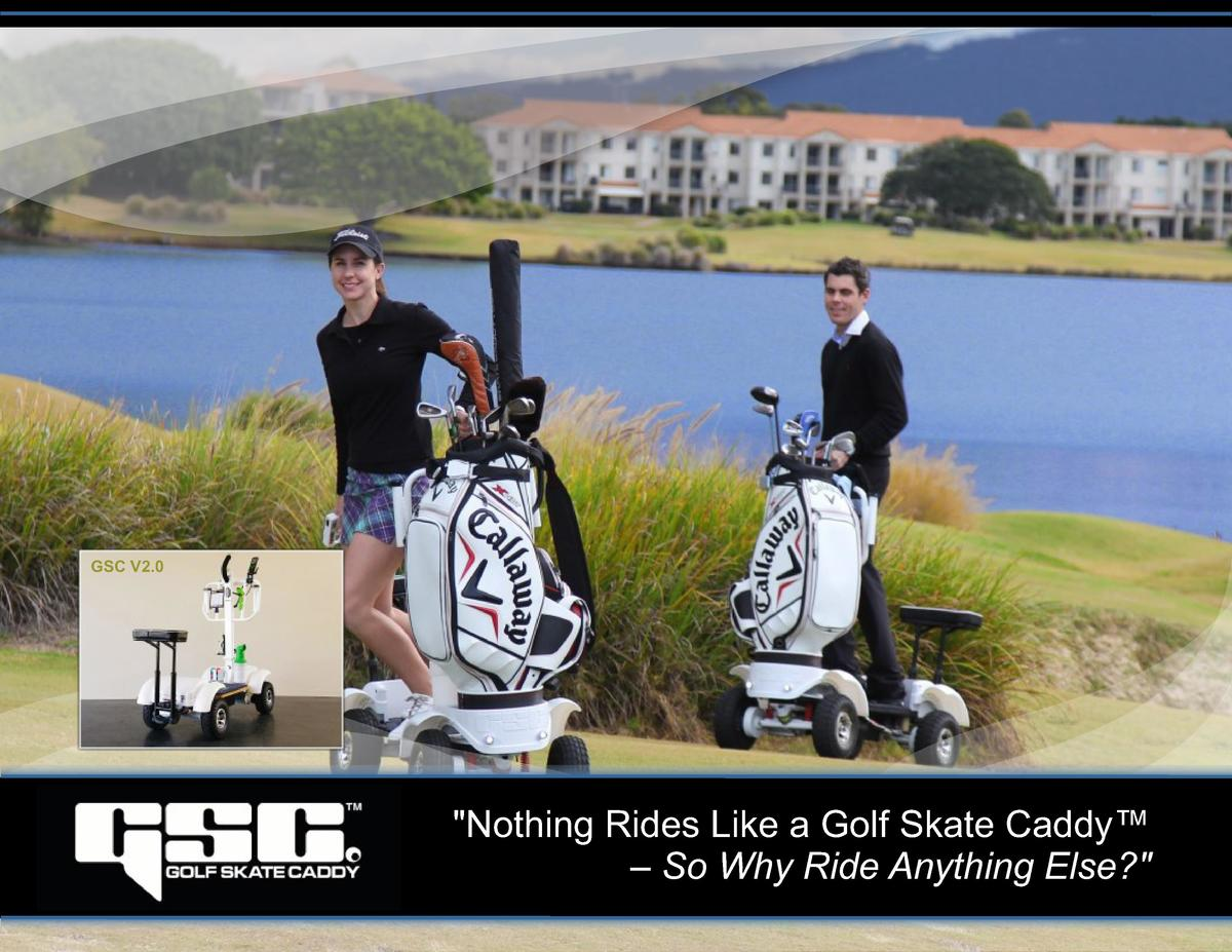 GSC V2.0   Nothing Rides Like a Golf Skate Caddy        So Why Ride Anything Else
