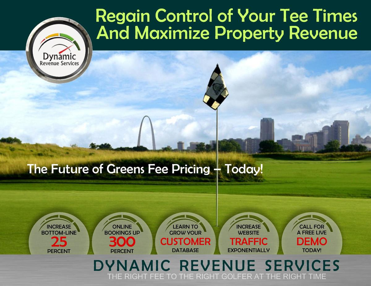 Regain Control of Your Tee Times And Maximize Property Revenue  The Future of Greens Fee Pricing     Today   INCREASE BOTT...