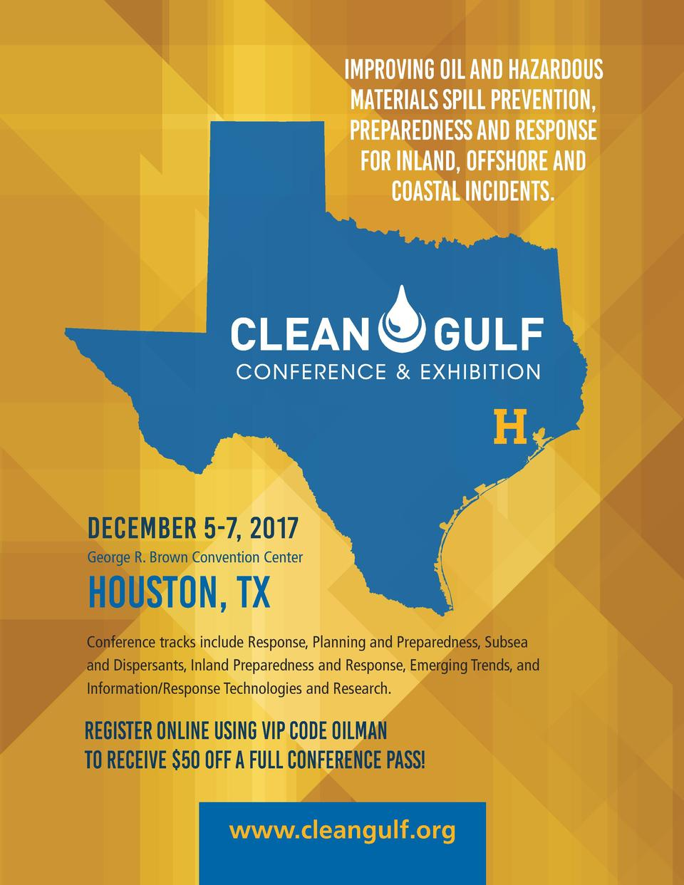 Improving oil and hazardous materials spill prevention, preparedness and response for inland, offshore and coastal inciden...