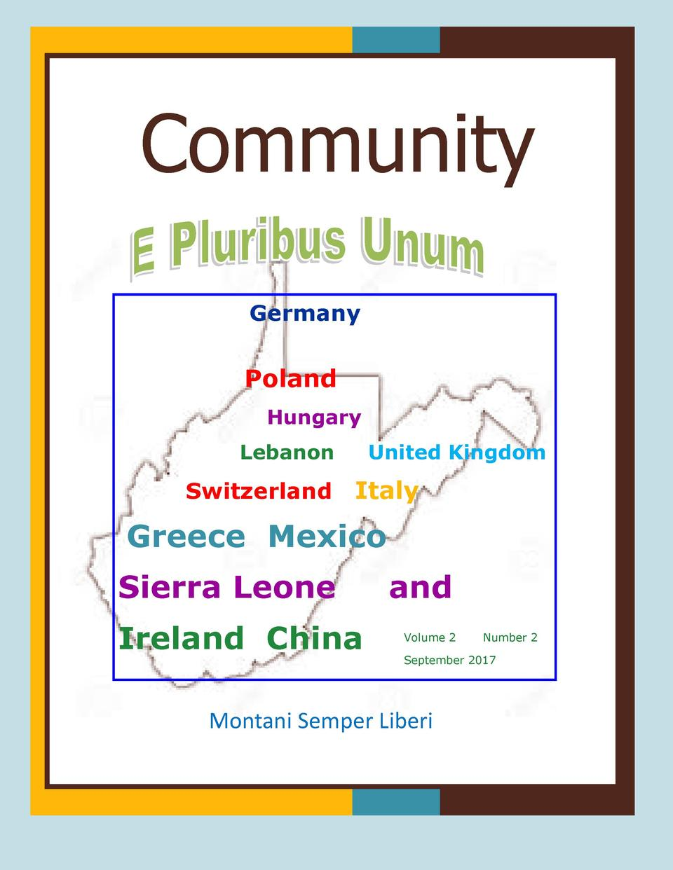 Community Community Germany  Poland Hungary Lebanon  Switzerland  United Kingdom  Italy  Greece Mexico Sierra Leone Irelan...