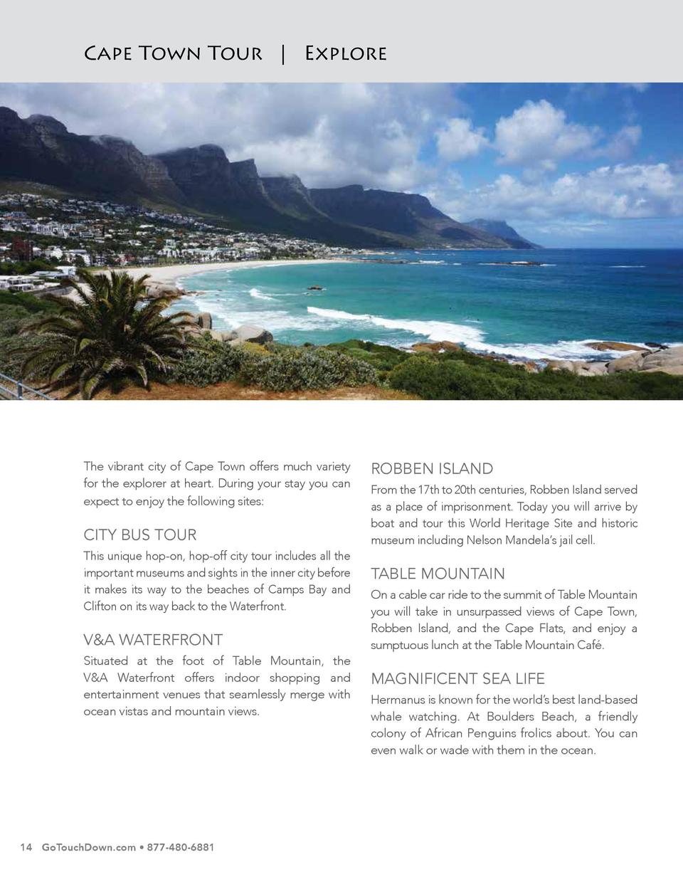 Cape Town Tour   Explore  Cape Town Tour   Lodging  A perfect blend of the Cape   s winemaking heritage and contemporary s...