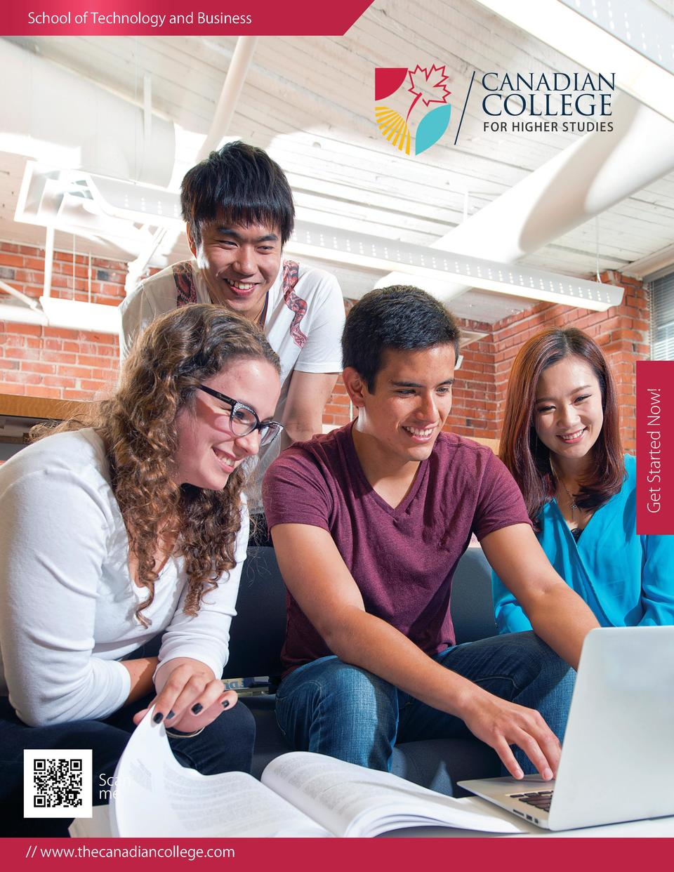 Get Started Now   School of Technology and Business     www.thecanadiancollege.com Local CC Brochure- WITHOUT FEE.indd 1  ...