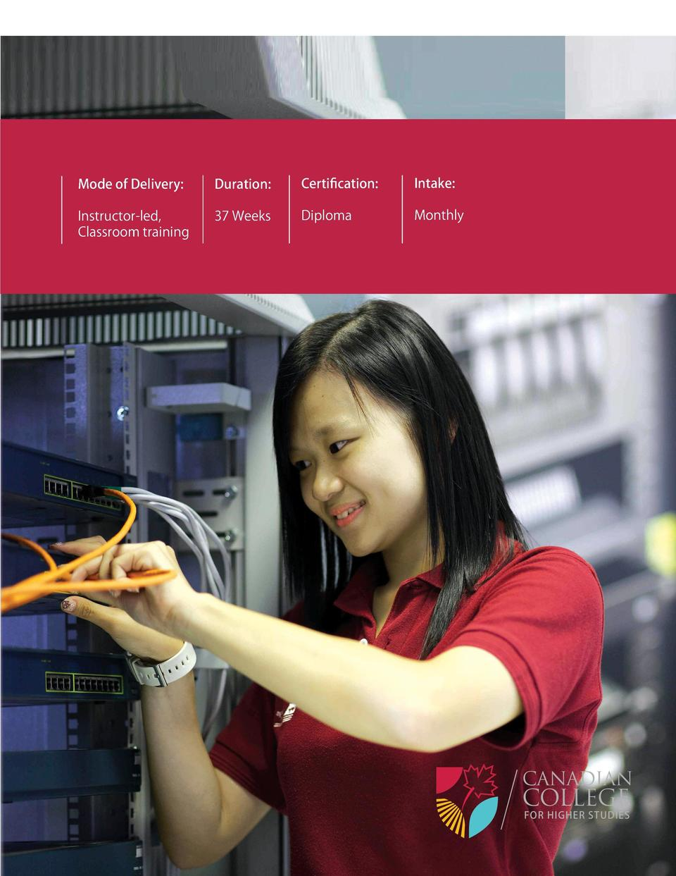 Programs  Diploma  Network  lAN WAN  Administration  This program prepares students to setup local   Wide Area Networks us...