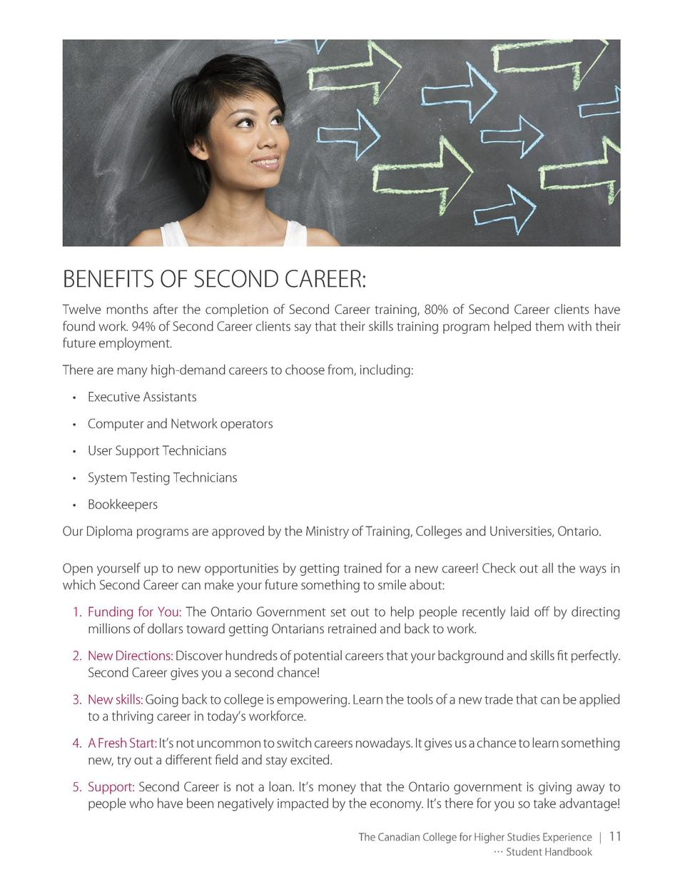 You could rejuvenate your career  With SECOND CAREER Contact us for free counselling to select the right career and start ...
