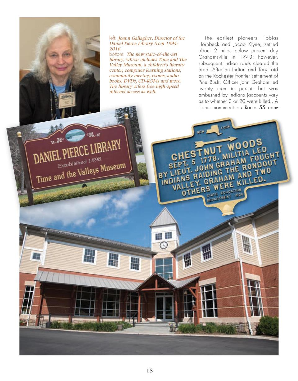 left  Joann Gallagher, Director of the Daniel Pierce Library from 19942016. bottom  The new state-of-the-art library, whic...