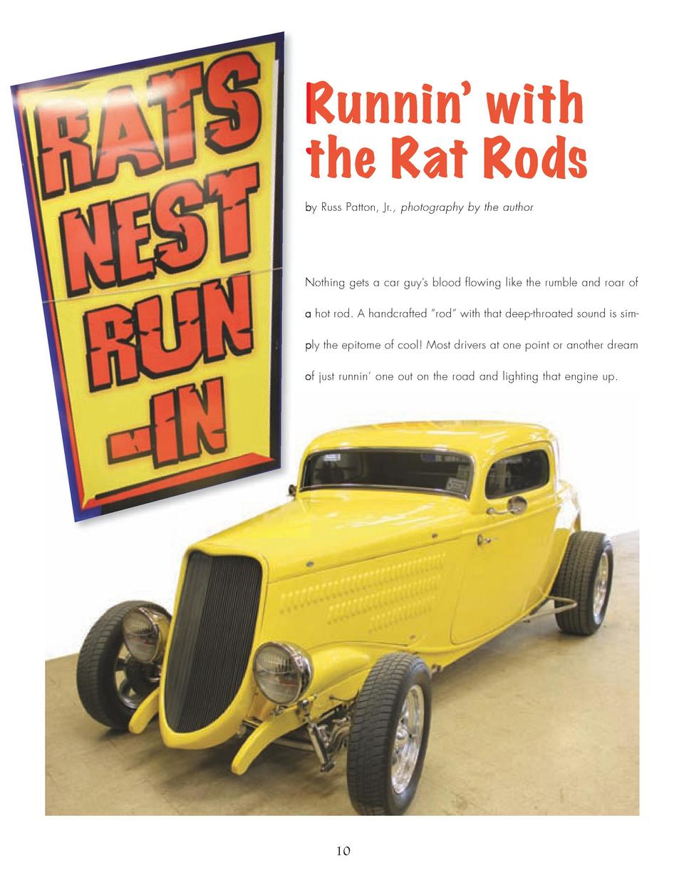 10_14_Runnin_With_Rats_FEATURE.qxp_Template 2 21 16 10 27 AM Page 1  Runnin    with the Rat Rods by Russ Patton, Jr., phot...
