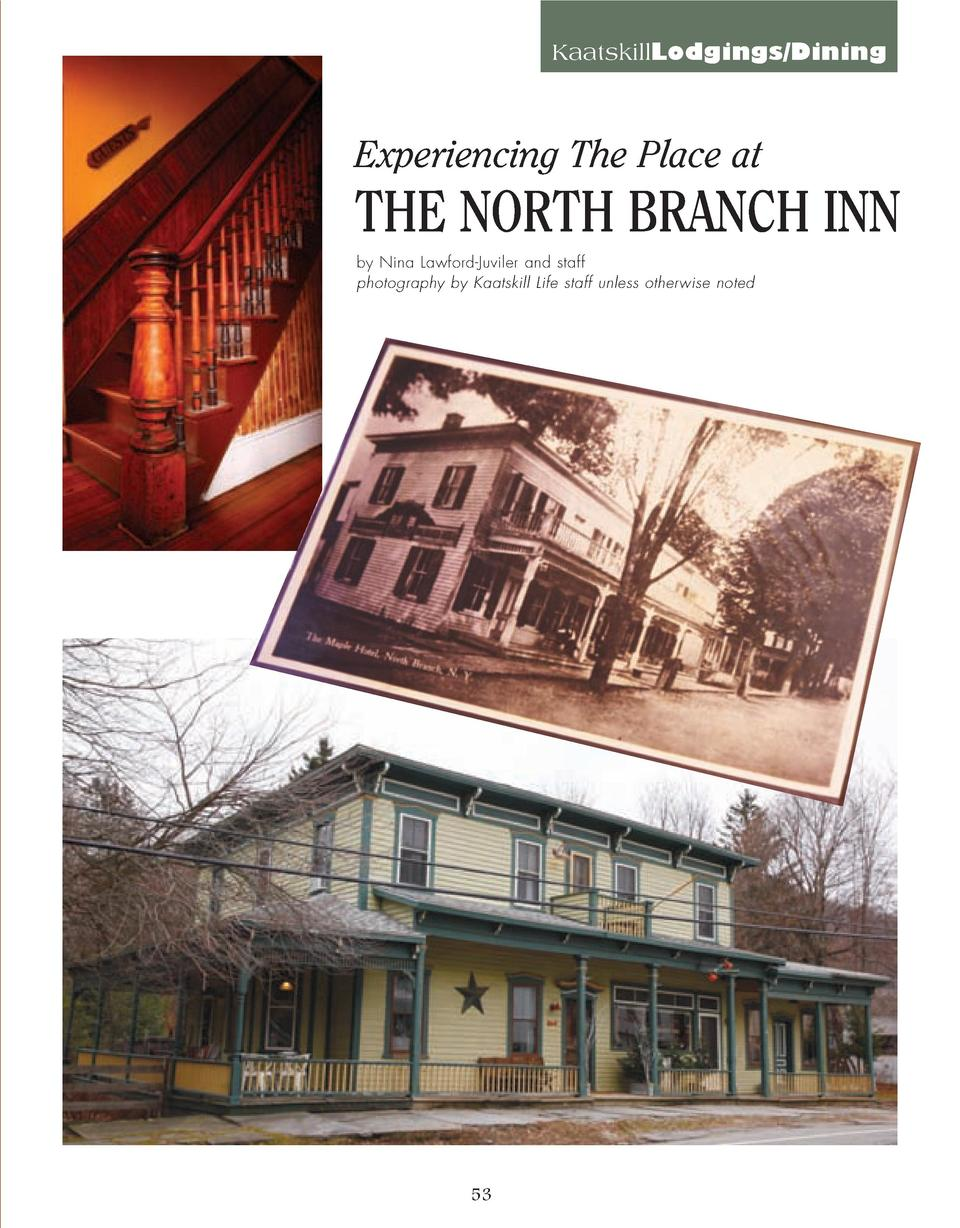 52_61_North_Branch_Inn_LODGING_DINING.qxp_Template 2 21 16 11 48 AM Page 2  KaatskillLodgings Dining  Experiencing The Pla...