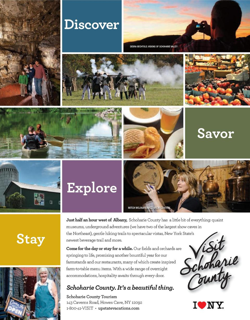 16 KLIFE SPRING 03_Layout 1 2 12 16 9 20 AM Page 1  Discover DEBRA BECHTOLD, VISIONS OF SCHOHARIE VALLEY  Savor  Explore M...