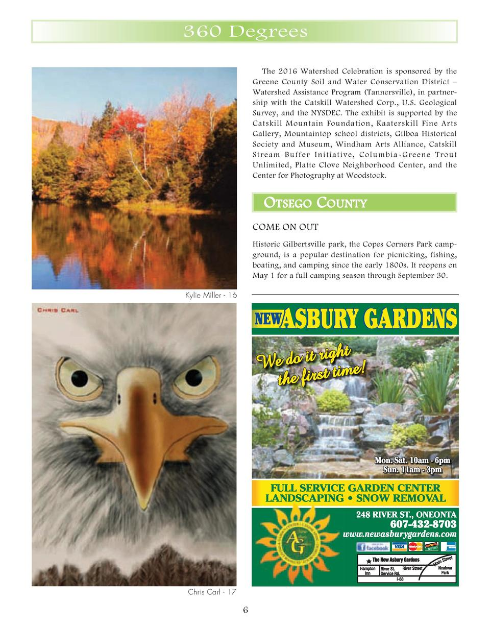 04_08_360_Spring_2016.qxp__360_Summer 2 21 16 9 47 AM Page 3  360 Degrees The 2016 Watershed Celebration is sponsored by t...