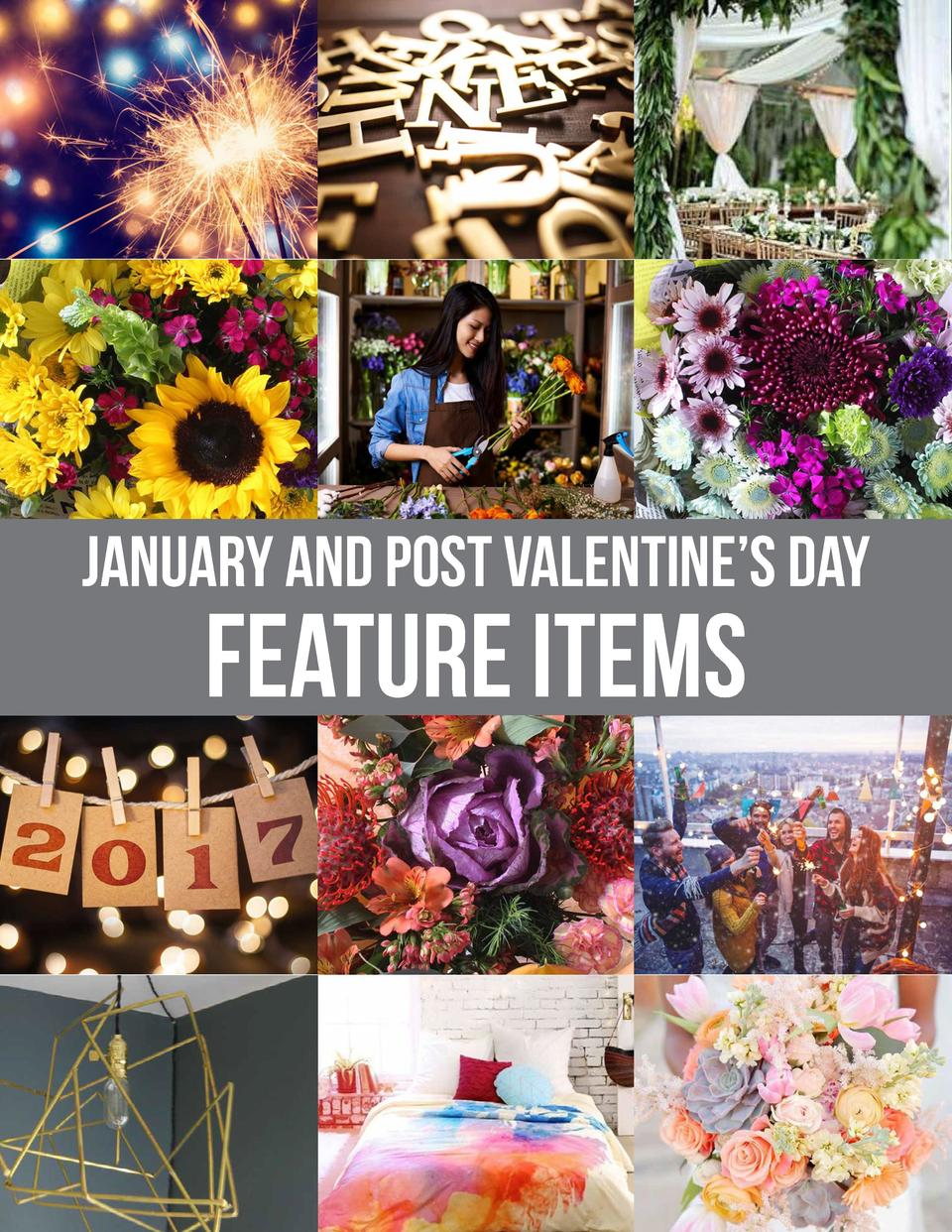 January and Post Valentine   s Day  Feature Items