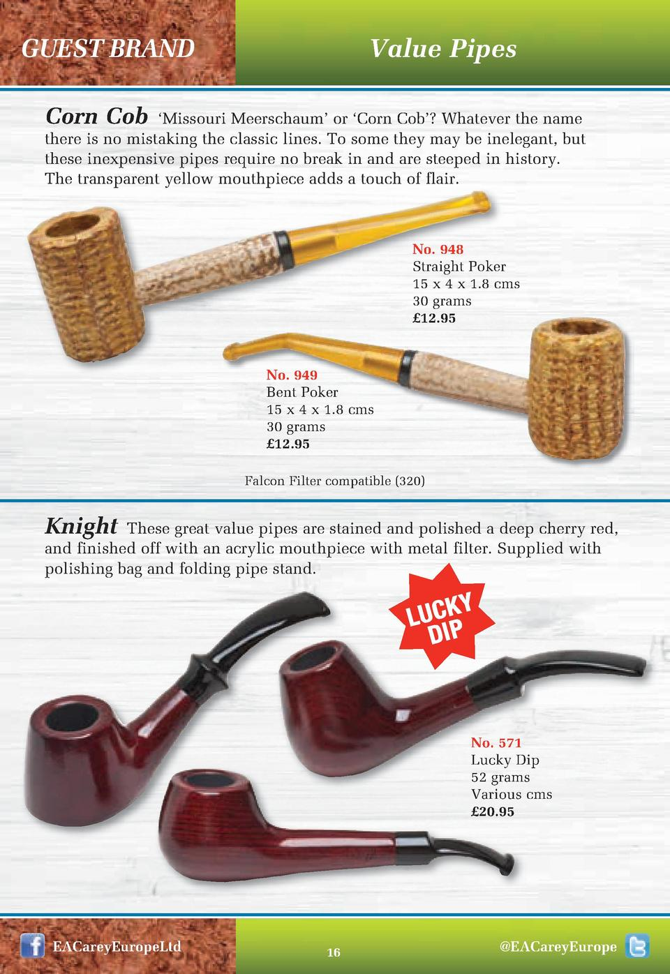 Value Pipes  GUEST BRAND Corn Cob     Missouri Meerschaum    or    Corn Cob     Whatever the name there is no mistaking th...