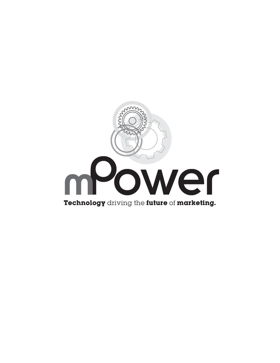mPower Technology driving the future of marketing.