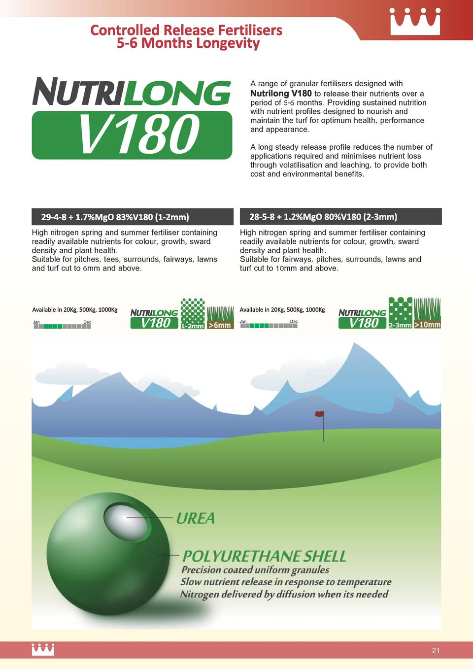 A range of granular fertilisers designed with Nutrilong V1 80 to release their nutrients over a period of 5-6 months. Prov...