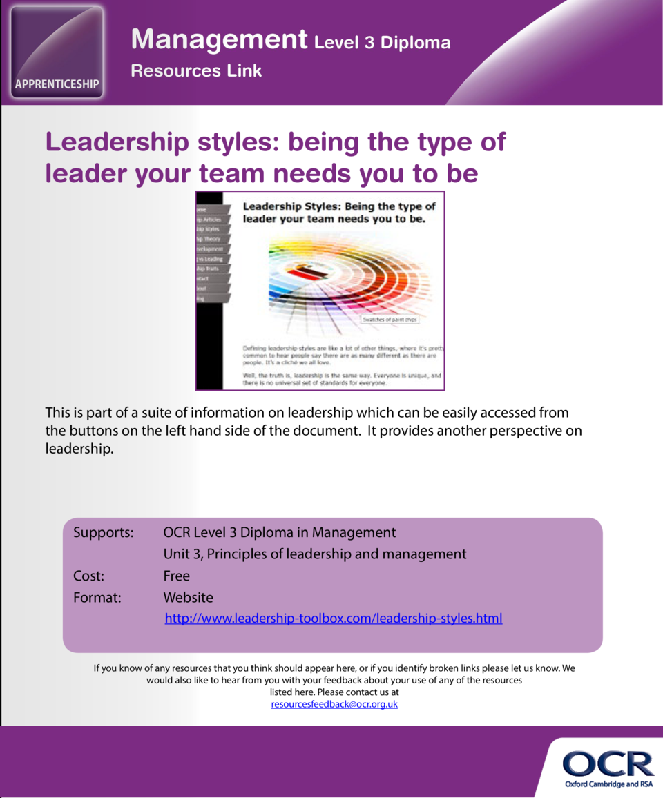 6 leadership styles and when you should use them  Leadership styles  being the type of leader your team needs you to be  T...