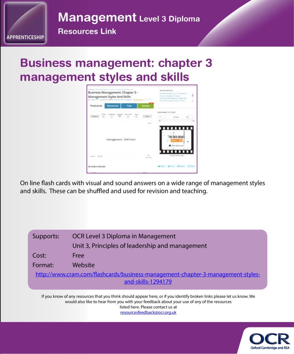 10 x leadership styles  Business management  chapter 3 management styles and skills  A useful, brief explanation of the 10...