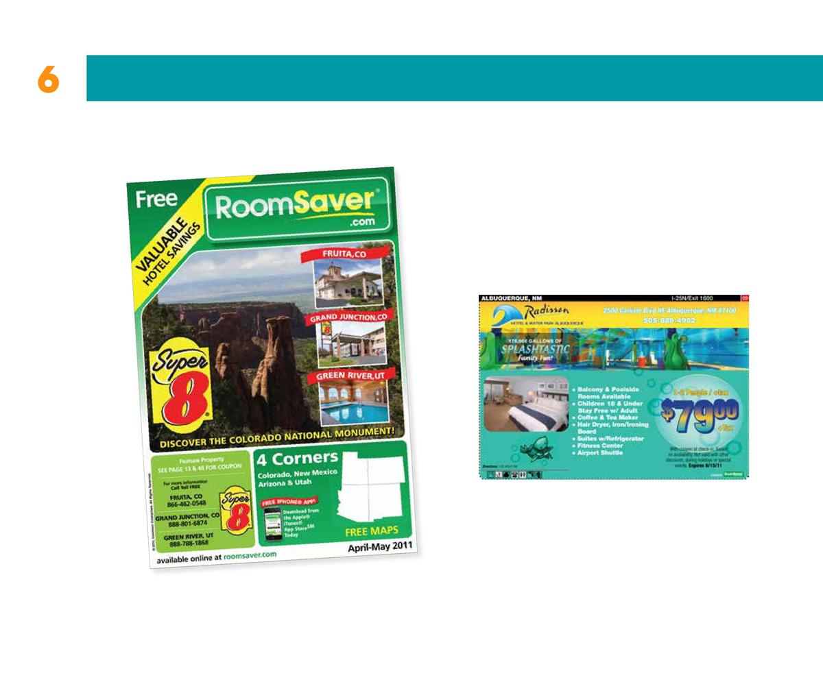 6  RoomSaver Inside pages   4 space ad not to scale