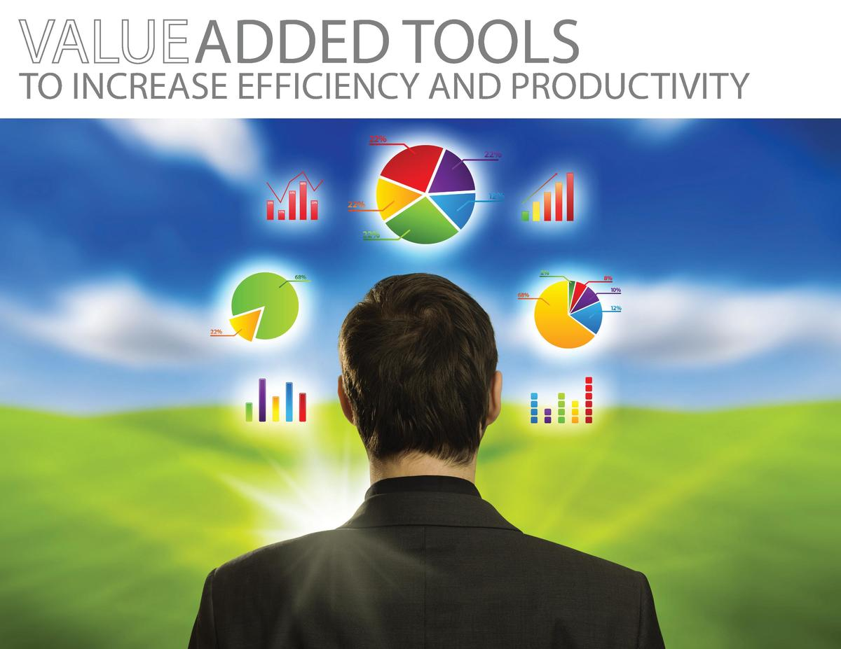 ADDED TOOLS  TO INCREASE EFFICIENCY AND PRODUCTIVITY