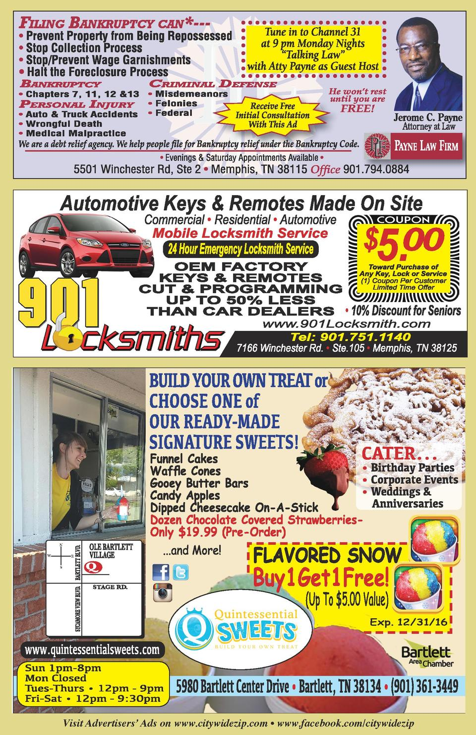 5.00  Commercial     Residential     Automotive  N W  E S  Visit Advertisers    Ads on www.citywidezip.com     www.facebo...