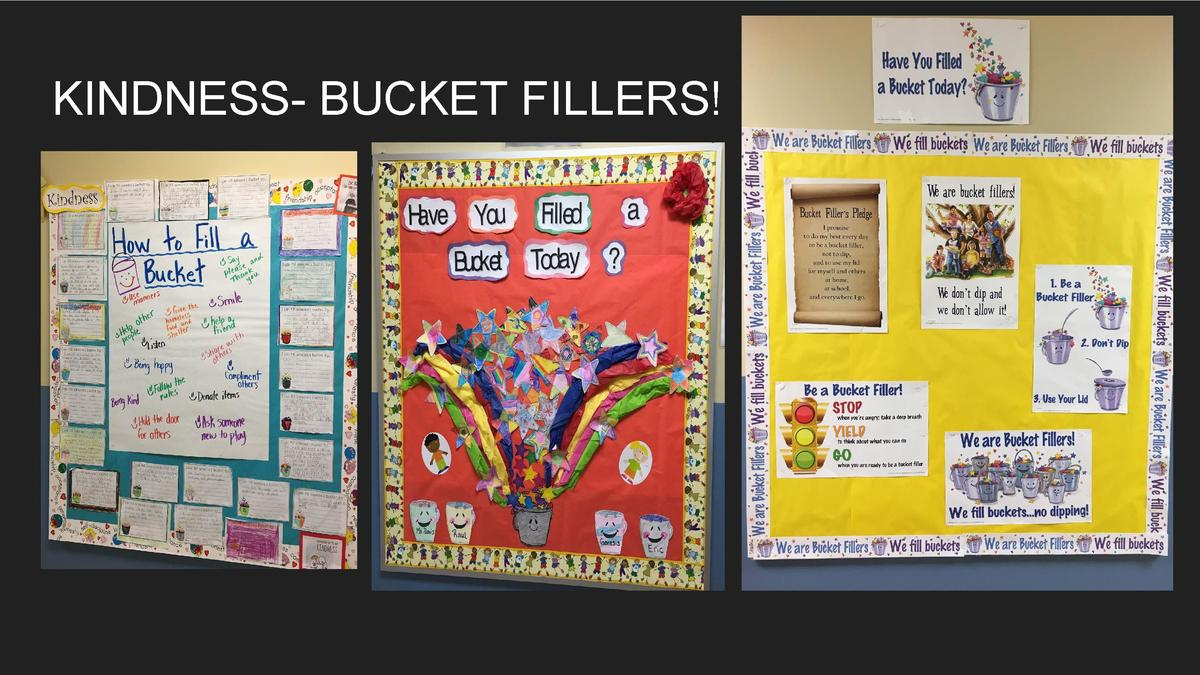 KINDNESS- BUCKET FILLERS