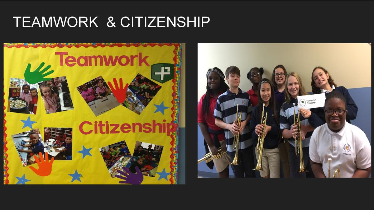 TEAMWORK   CITIZENSHIP