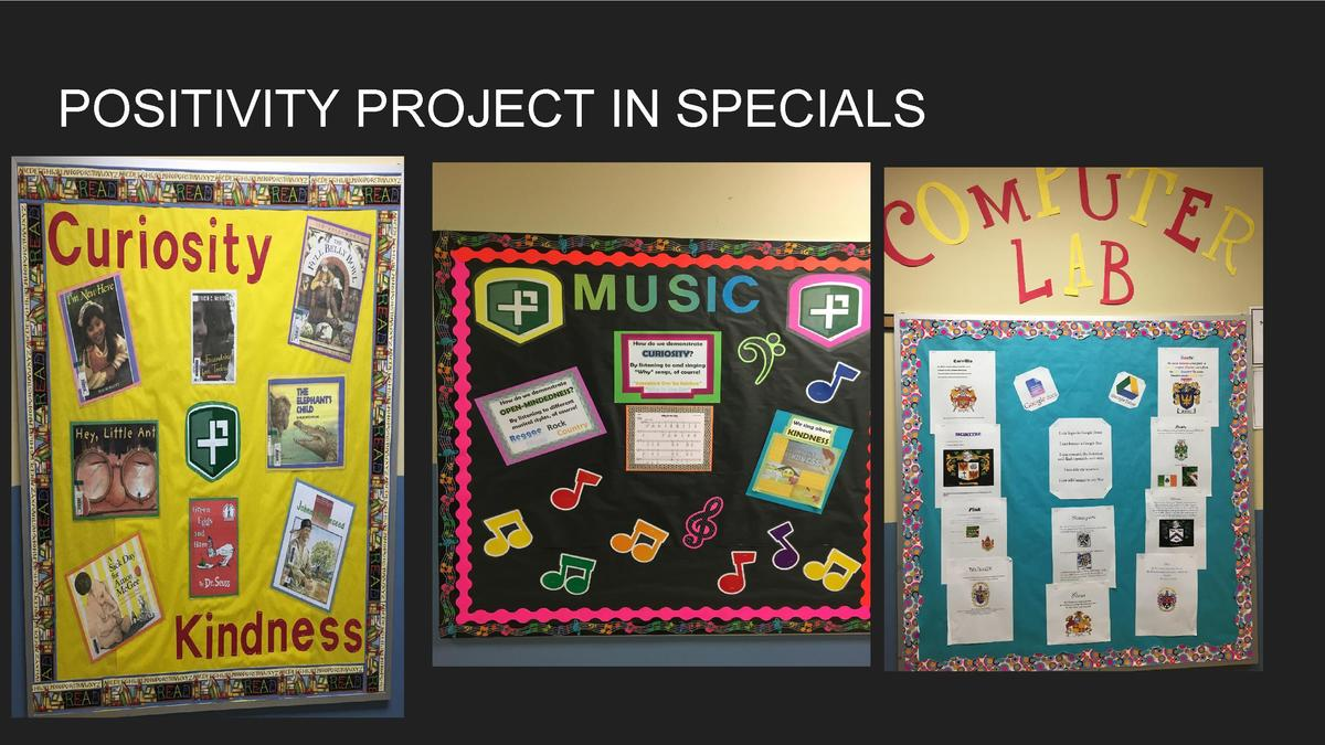 POSITIVITY PROJECT IN SPECIALS