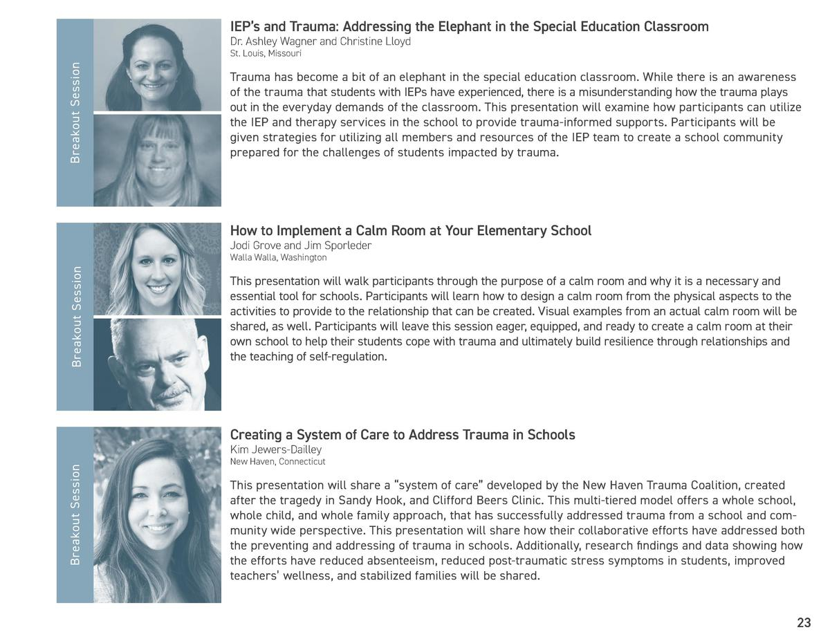 IEP   s and Trauma  Addressing the Elephant in the Special Education Classroom Dr. Ashley Wagner and Christine Lloyd  Brea...