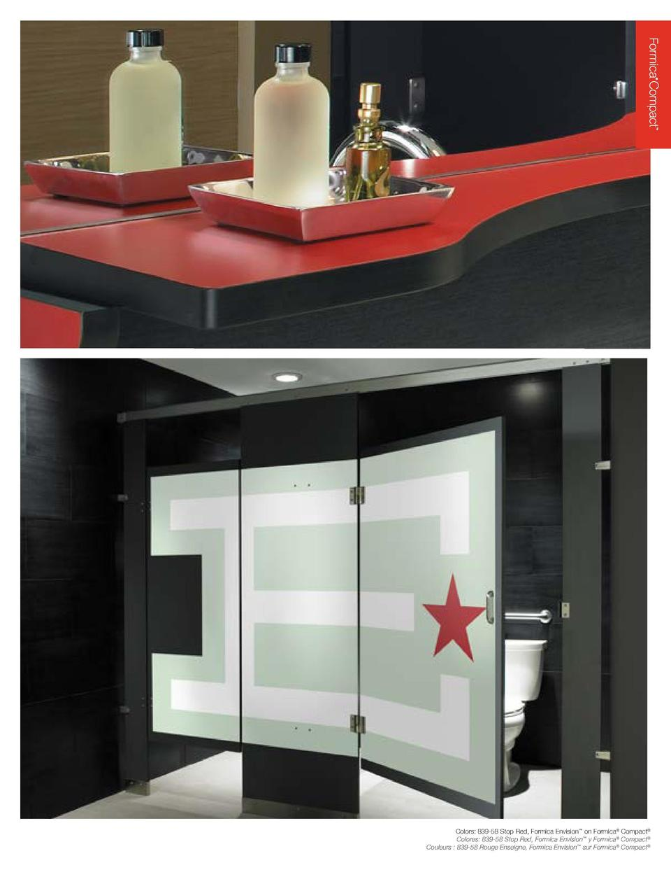 Versatile, practical and beautiful, Formica   Compact    is a structural, two-sided decorative panel that is ideal for int...