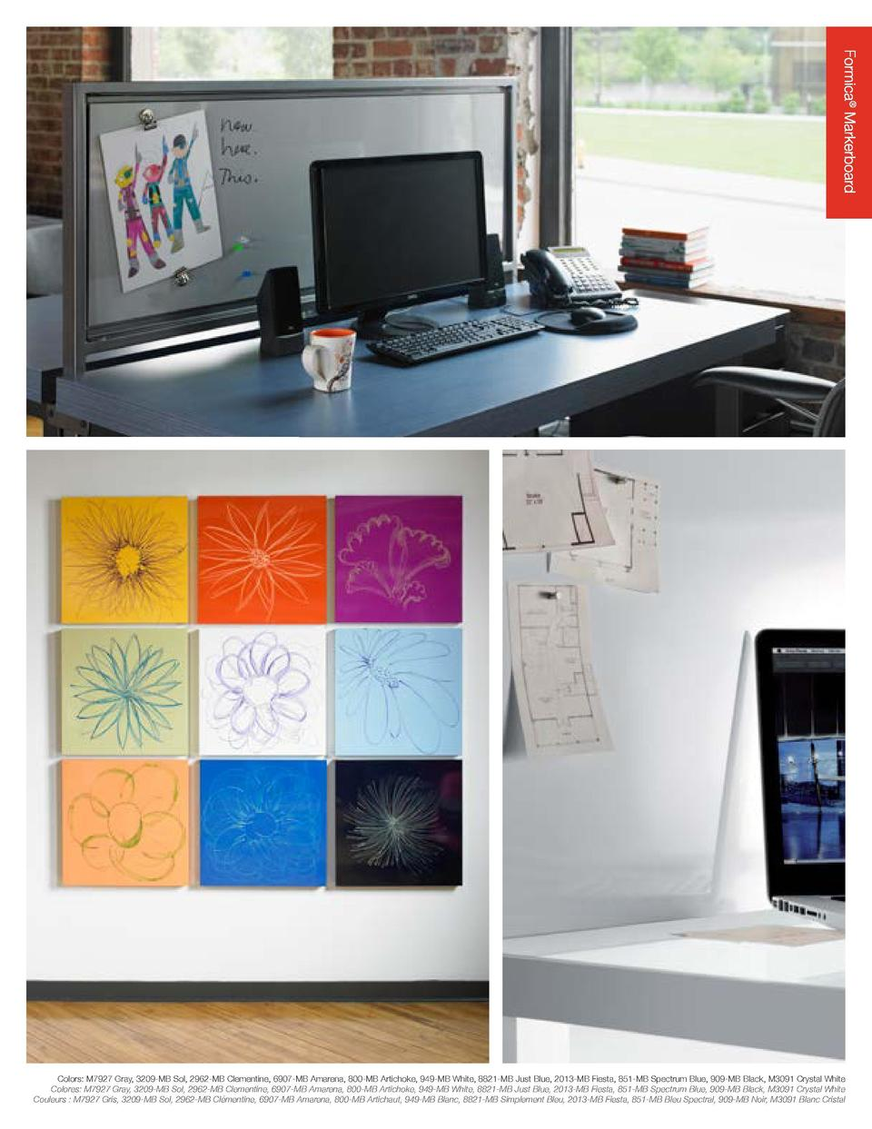 Formica   Markerboard This durable, high-gloss dry erase surface cleans up instantly, making it ideal for meeting and trai...
