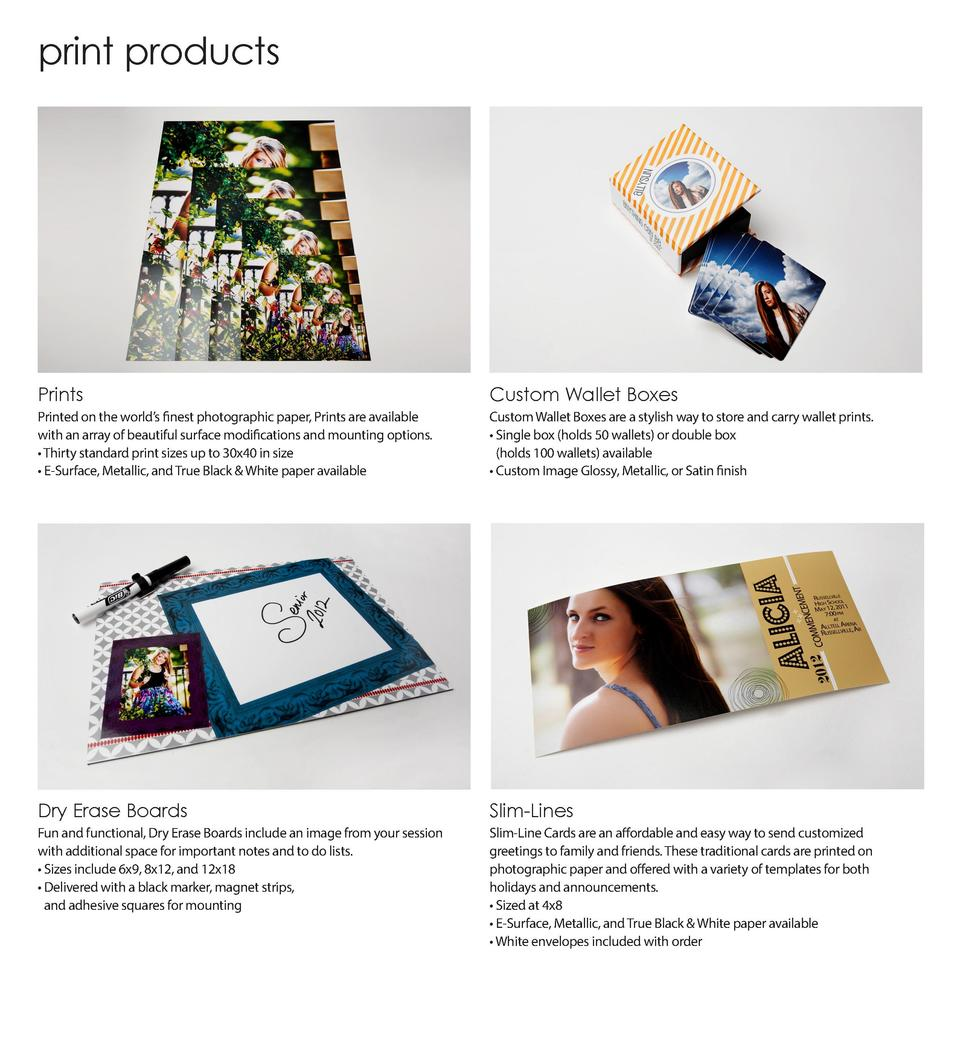 print products  Prints  Custom Wallet Boxes  Printed on the world   s finest photographic paper, Prints are available with...