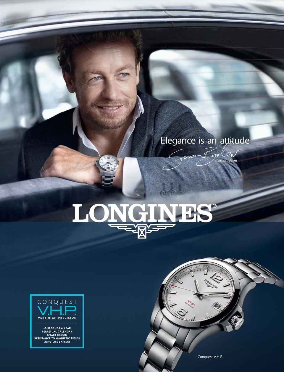 204  Elegance is an attitude Simon Baker  Conquest V.H.P.