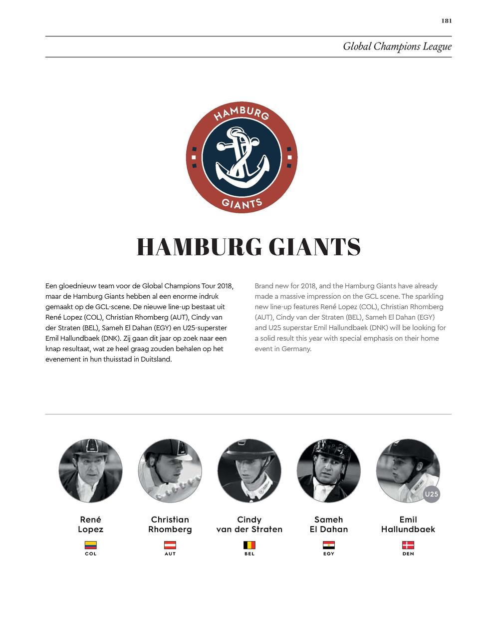 180  181  EVENTS  Global Champions League  MADRID IN MOTION  HAMBURG GIANTS  Madrid in Motion returns for another season o...