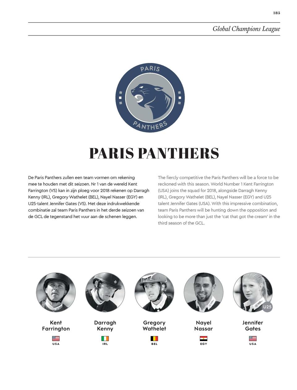 184  185  EVENTS  Global Champions League  CASCAIS CHARMS  PARIS PANTHERS  Charming by name, charming by nature, the 2018 ...