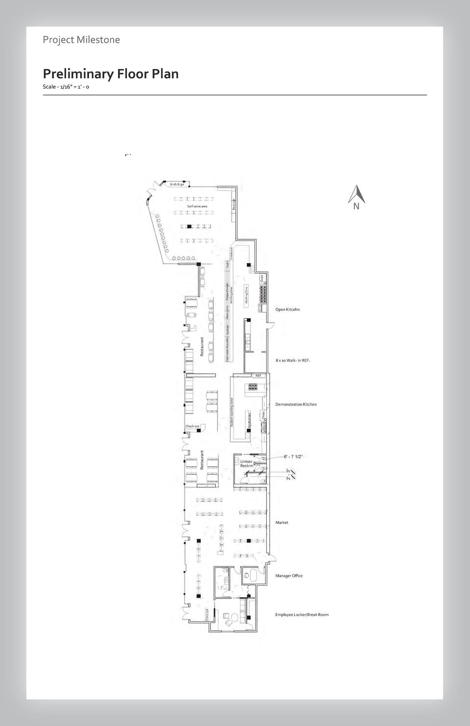 Case study Project Milestone - Aesthetics  Commercial Floor Preliminary SpacePlan Wayfinding Westfield Scale - 1 16  Valle...