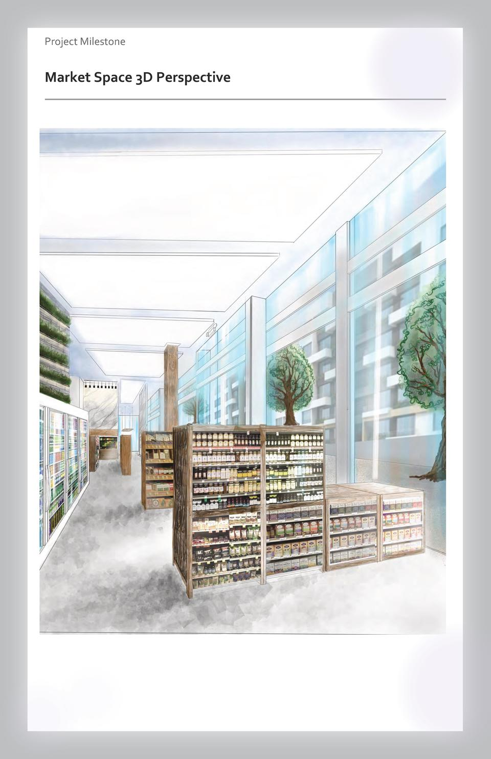 Case study Project Milestone - Aesthetics  Commercial Market Space Space 3D Perspective Wayfinding Westfield Valley Fair -...
