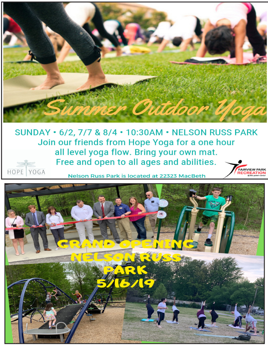 PROGRAM GUIDE MAY-AUGUST, 2019 21225 Lorain Rd     Fairview Park     440-356-4444 www.fairviewparkrec.com
