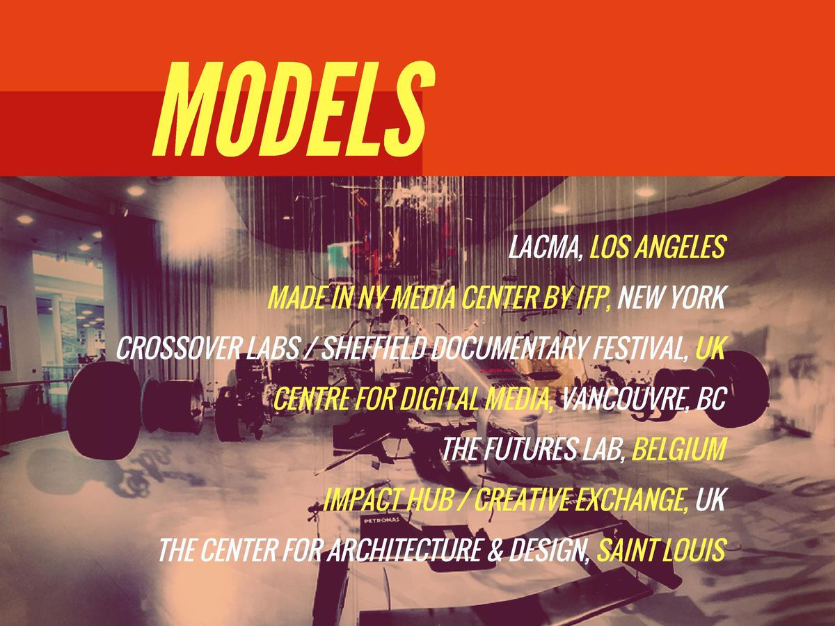 MODELS LACMA, LOS ANGELES MADE IN NY MEDIA CENTER BY IFP, NEW YORK CROSSOVER LABS   SHEFFIELD DOCUMENTARY FESTIVAL, UK CEN...