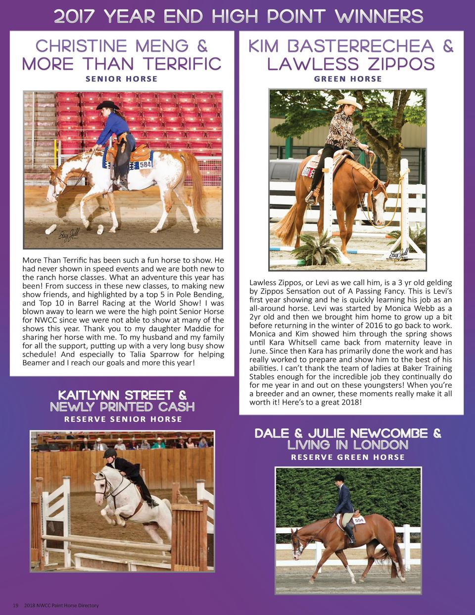 19  2018 NWCC Paint Horse Directory