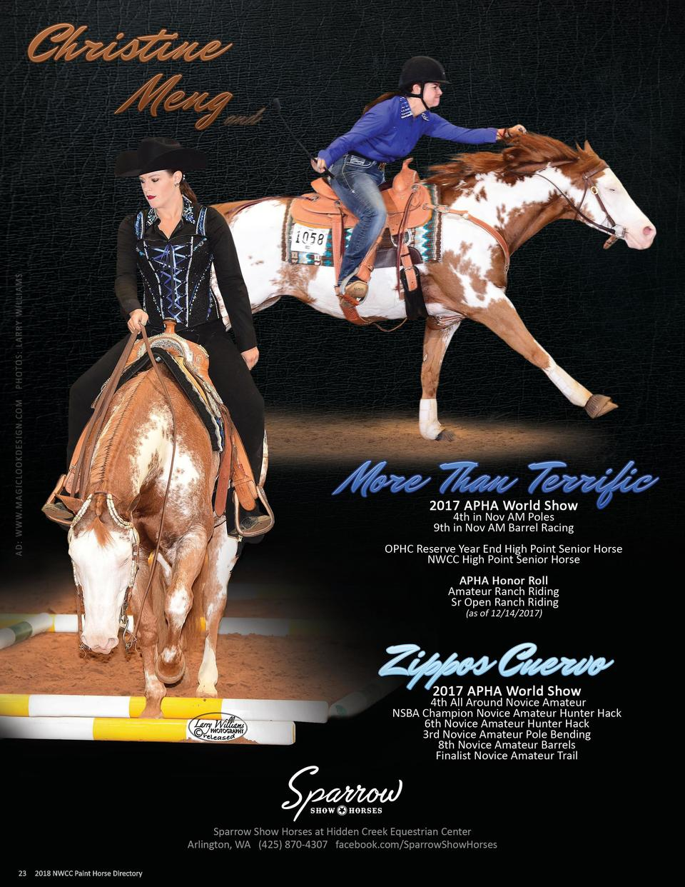 23  2017 NWCC Paint Horse Directory 2018