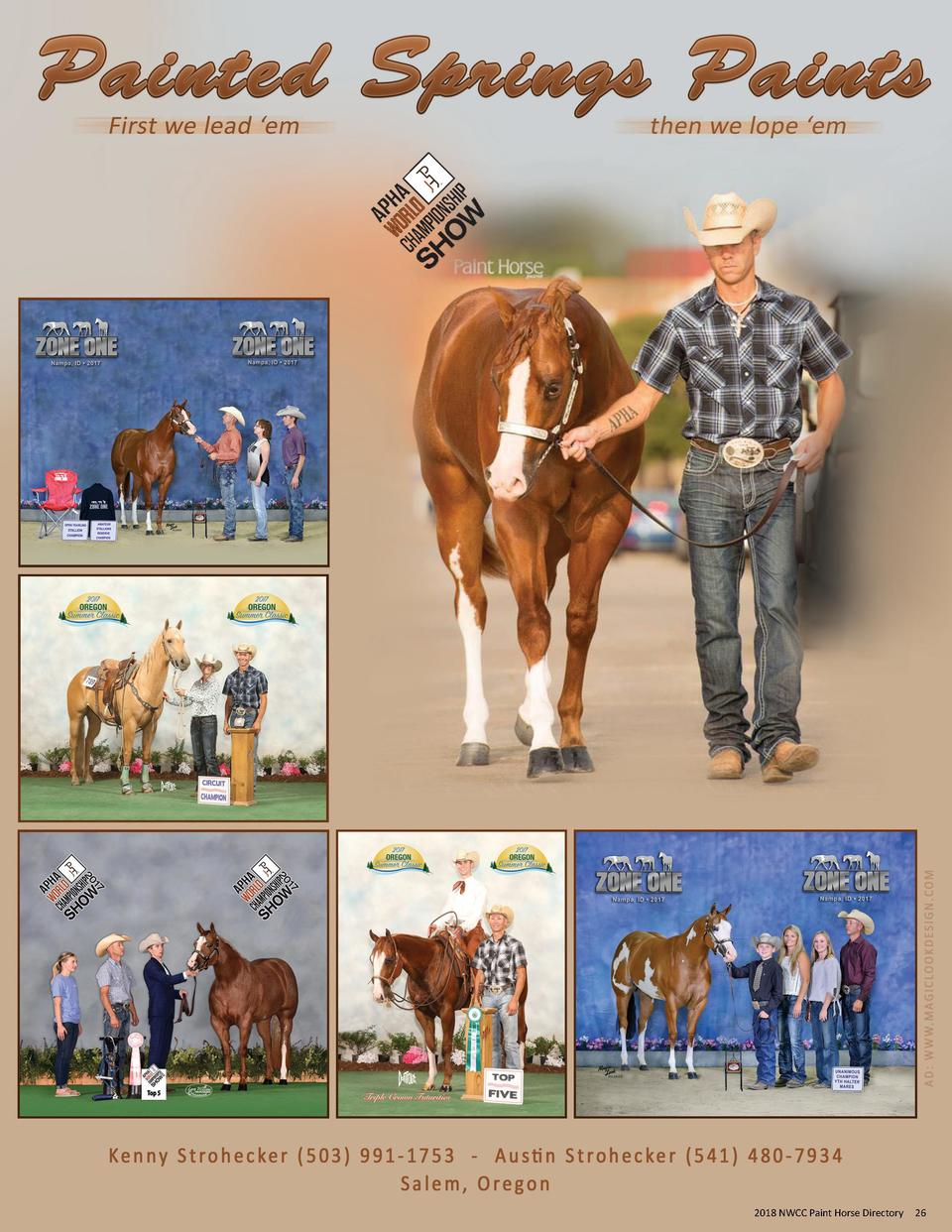 2017 NWCC Paint Horse Directory 2018  26