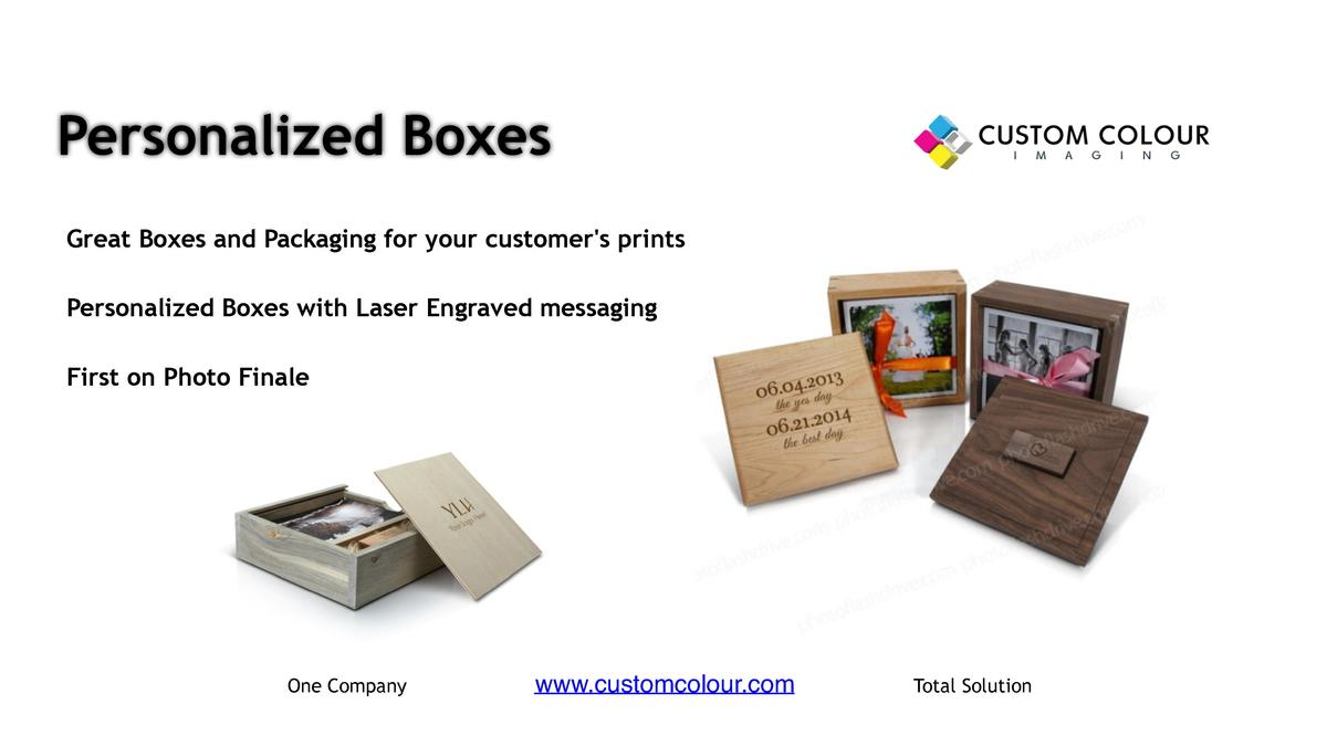 Personalized Boxes     Great Boxes and Packaging for your customer s prints     Personalized Boxes with Laser Engraved mes...