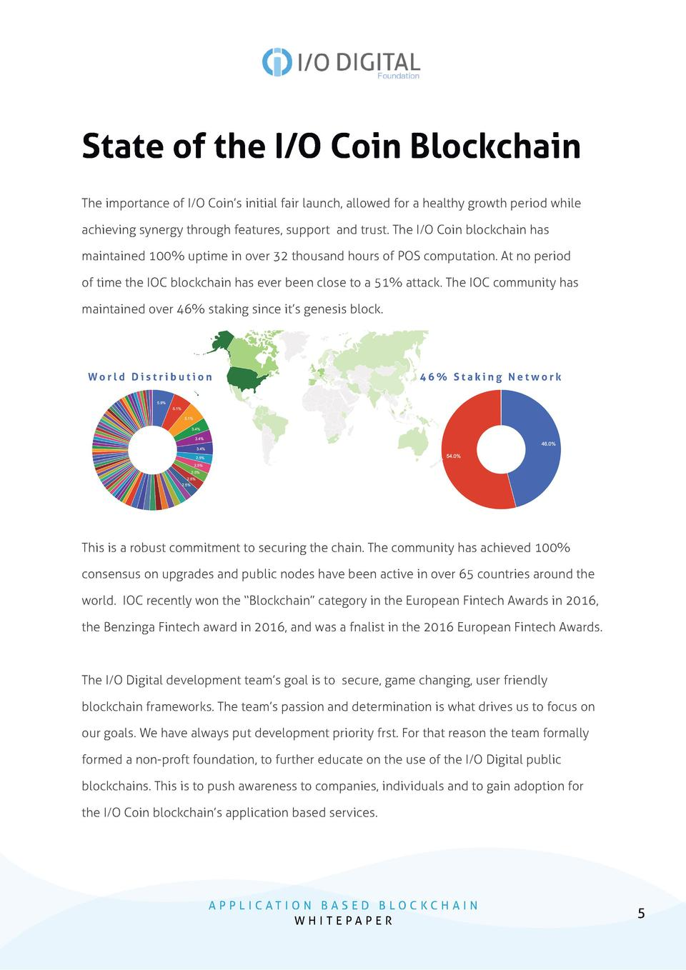 State of the I O Coin Blockchain The importance of I O Coin   s initial fair launch, allowed for a healthy growth period w...