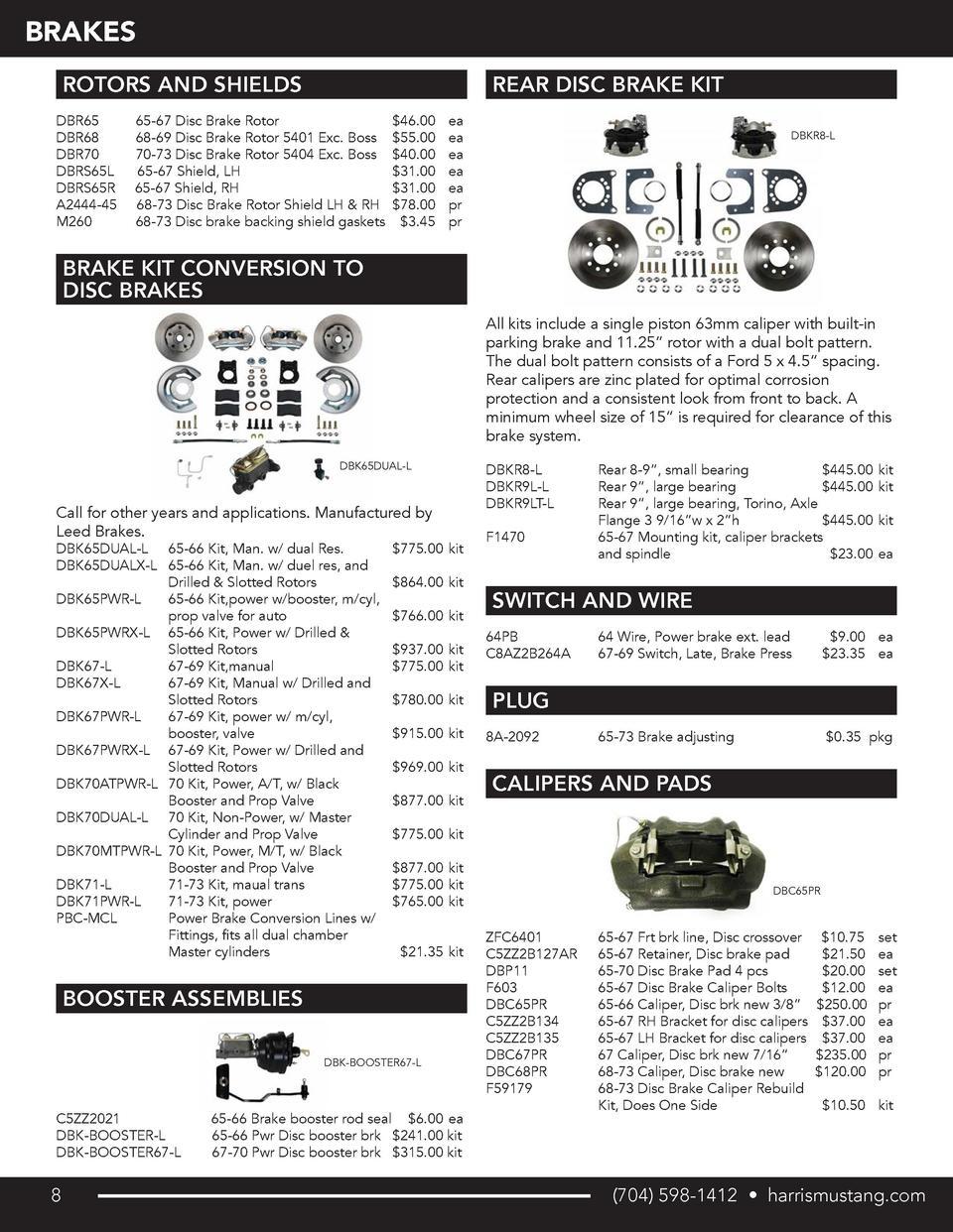 new 1966 67 fairlane fuse box terminal repair kit falcon 68 harris mustang wholesale catalog simplebooklet com  harris mustang wholesale catalog