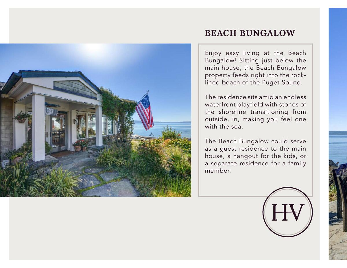 BEACH BUNGALOW Enjoy easy living at the Beach Bungalow  Sitting just below the main house, the Beach Bungalow property fee...