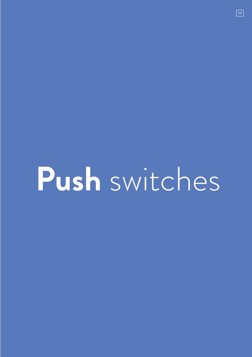 59  Push switches