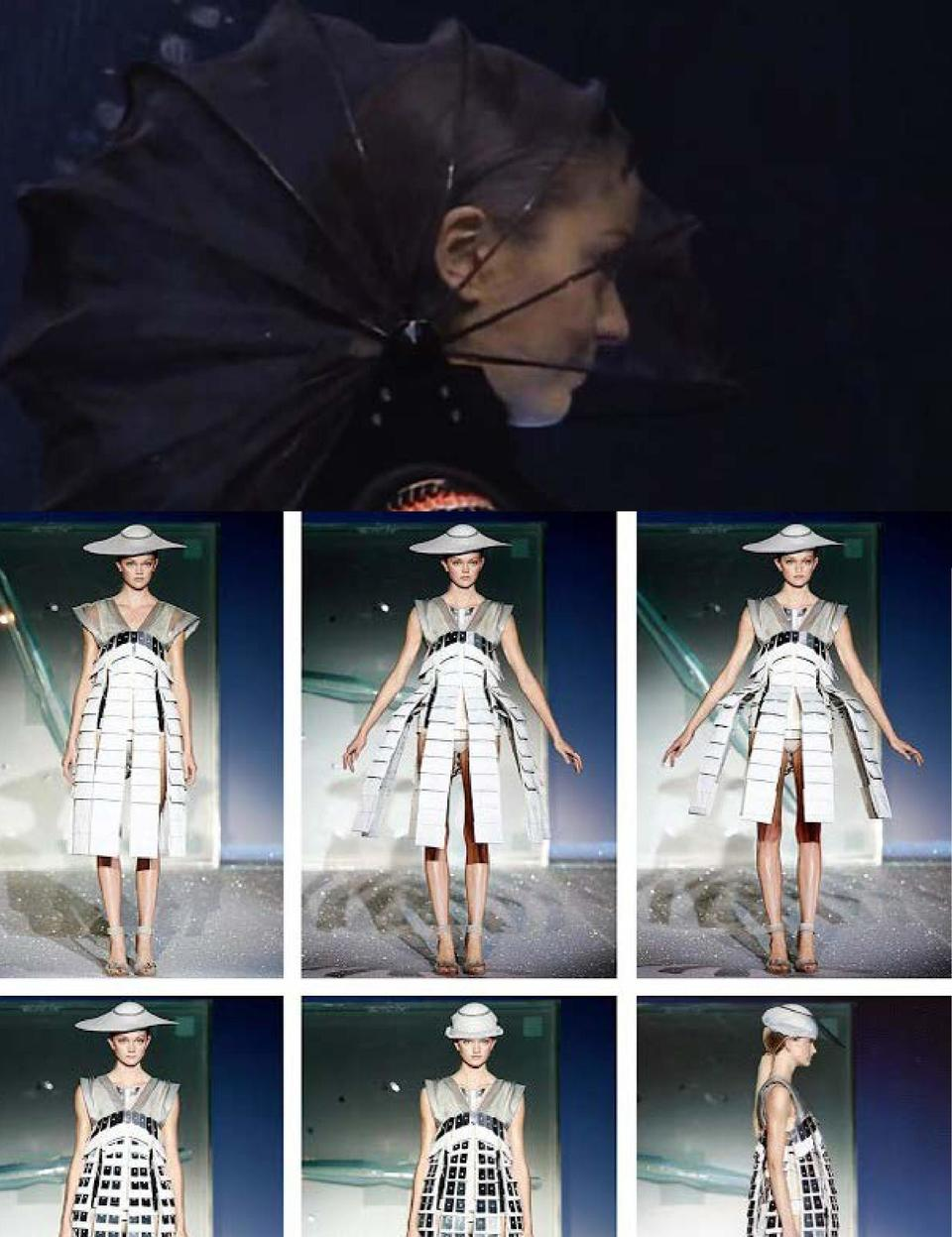 THE ARTISTS WHICH HAVE A HIGHER INSPIRATION ON ME LEADING TO MAKE THIS COLLECTION IS HUSSEIN CHALAYAN WHO IS KNOWN AS FASH...