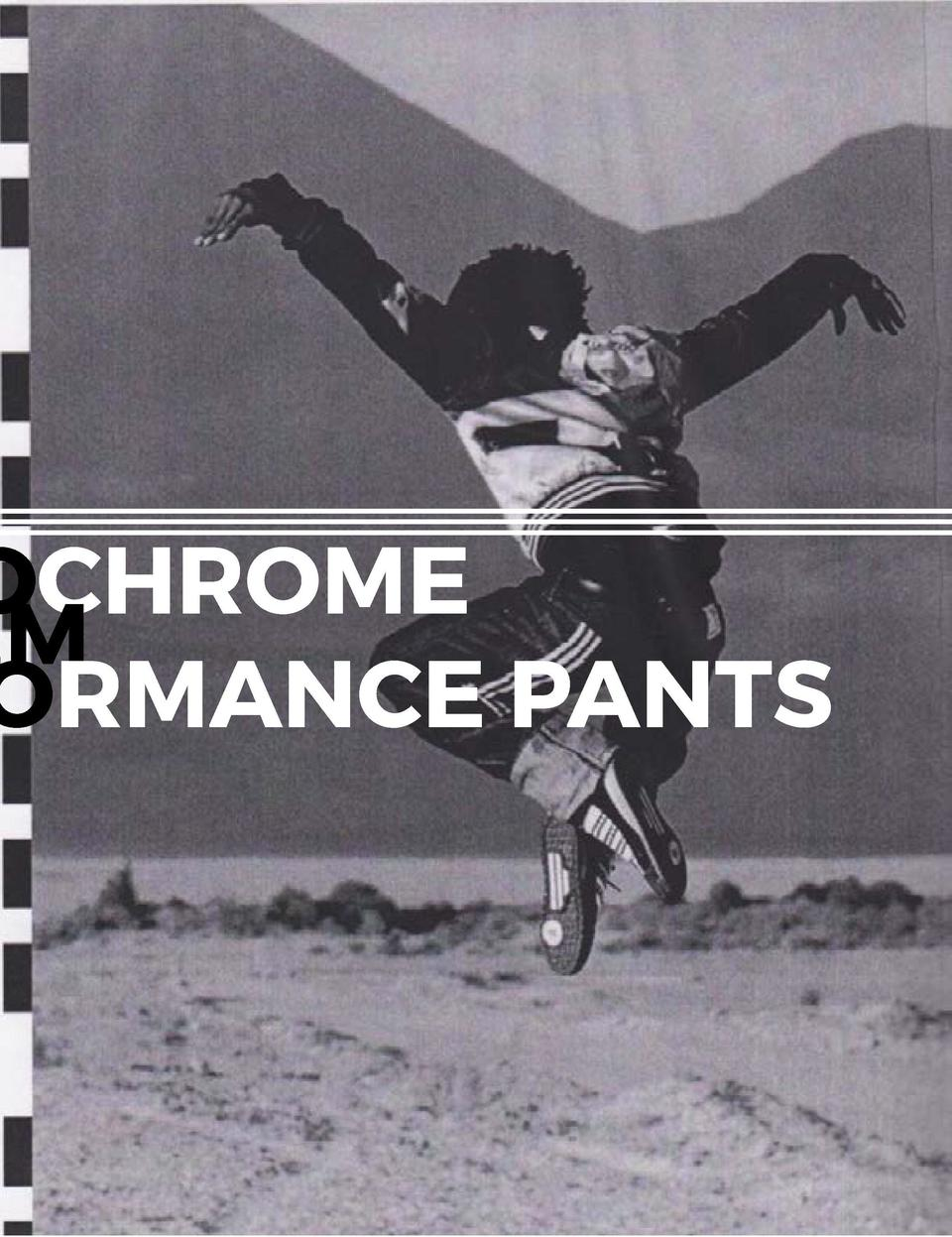 THE MONOCHROME HAREM PERFORMANCE PANTS       118