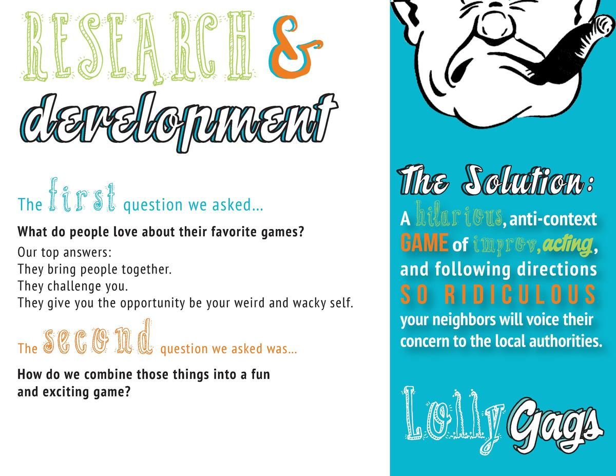 RESEARCH   development The  first  question we asked     What do people love about their favorite games  Our top answers  ...