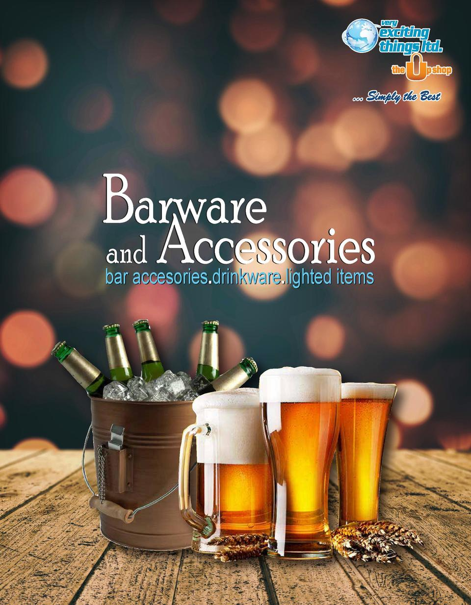 Barware and Accessories bar accesories.drinkware.lighted items