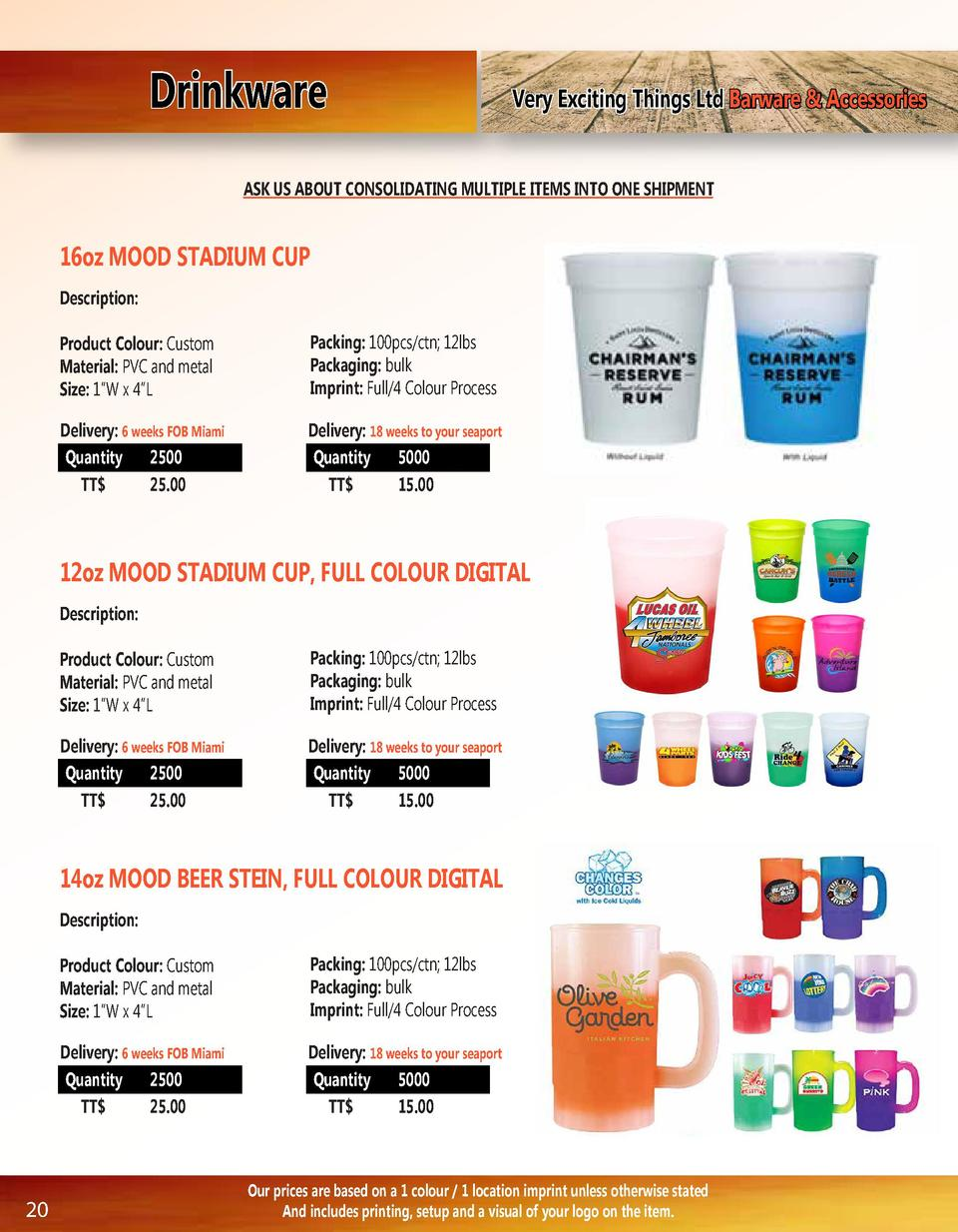 Drinkware  Very Exciting Things Ltd Barware   Accessories  ASK US ABOUT CONSOLIDATING MULTIPLE ITEMS INTO ONE SHIPMENT  16...
